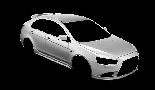 Цвета кузова Lancer Sportback